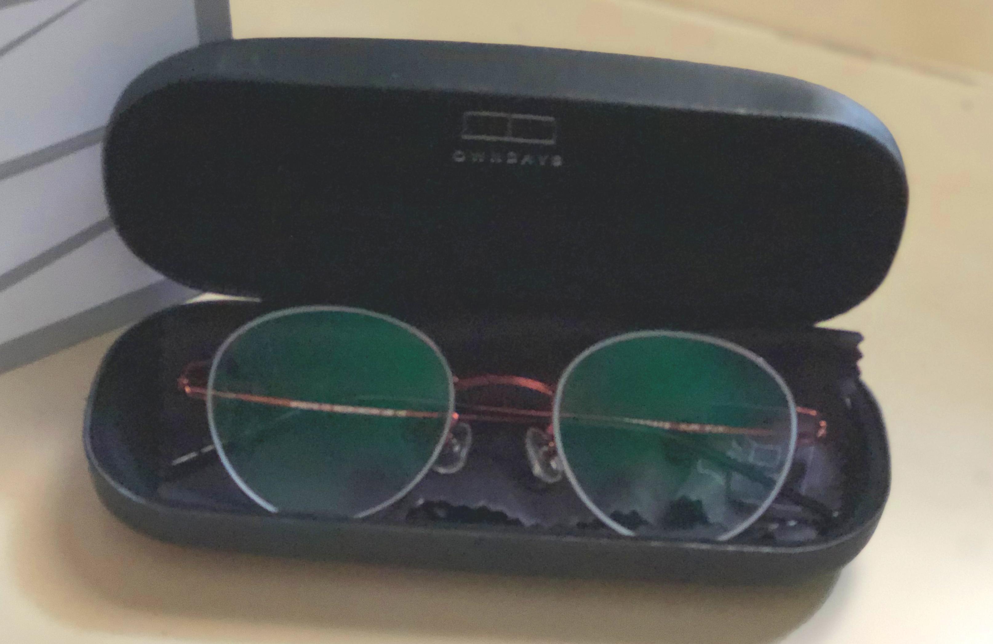แว่นตา Air Fit OWNDAYS (ภาพถ่ายโดยผู้เขียน)